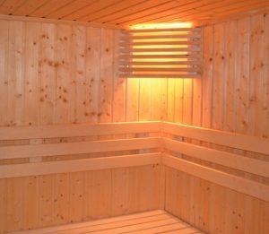 Fußbecken Sauna